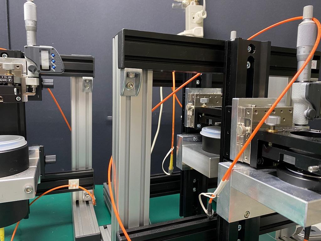 Specialized Evaluation Machine for Diffractive Optics|回折光学系 専用評価機