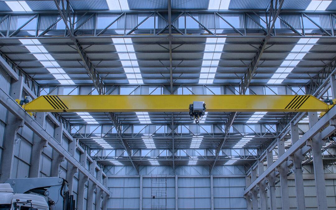 天井クレーン用広角カメラ